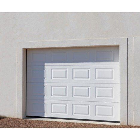 Montage porte de garage sectionnelle motoris e leroy merlin isolation id es - Montage porte de garage ...