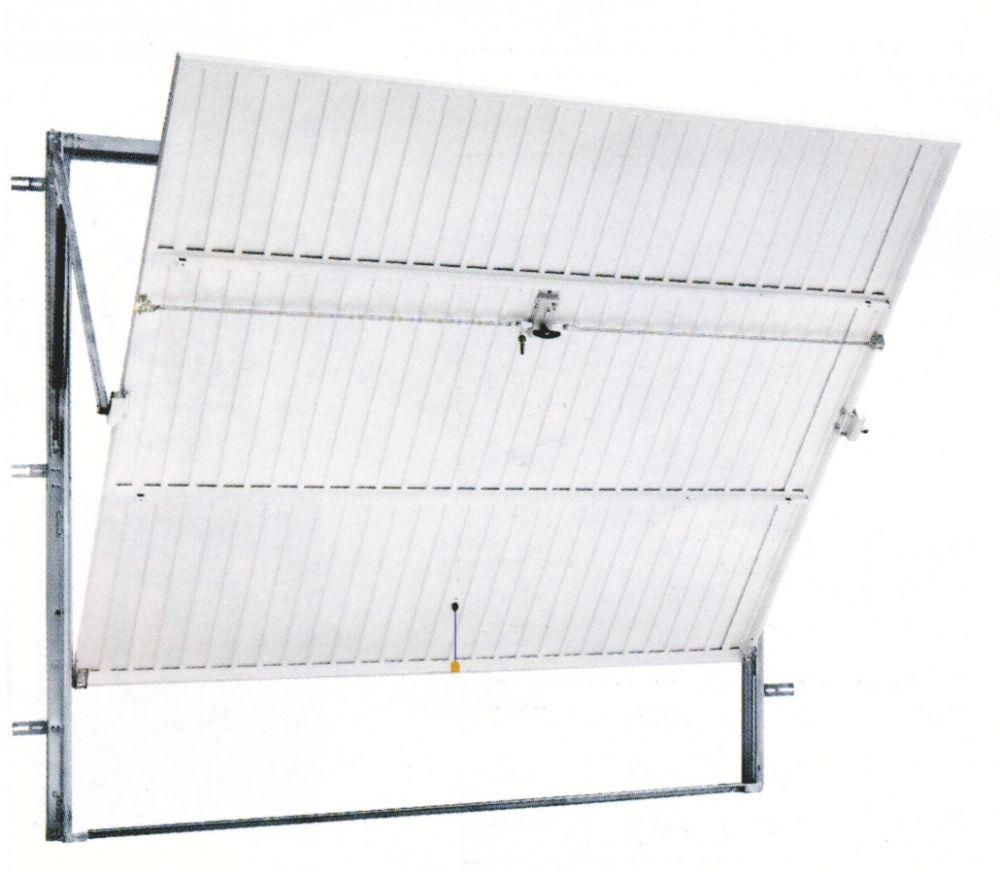 Porte de garage basculante debordante sans rail isolation id es - Porte de garage basculante non debordante tubauto ...