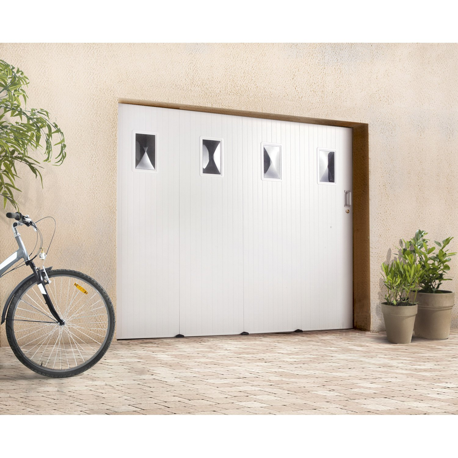 Prix d une porte de garage brico depot isolation id es for Porte de garage en pvc coulissante