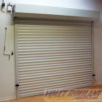 Porte de garage enroulable horizontal isolation id es for Isolation porte de garage enroulable