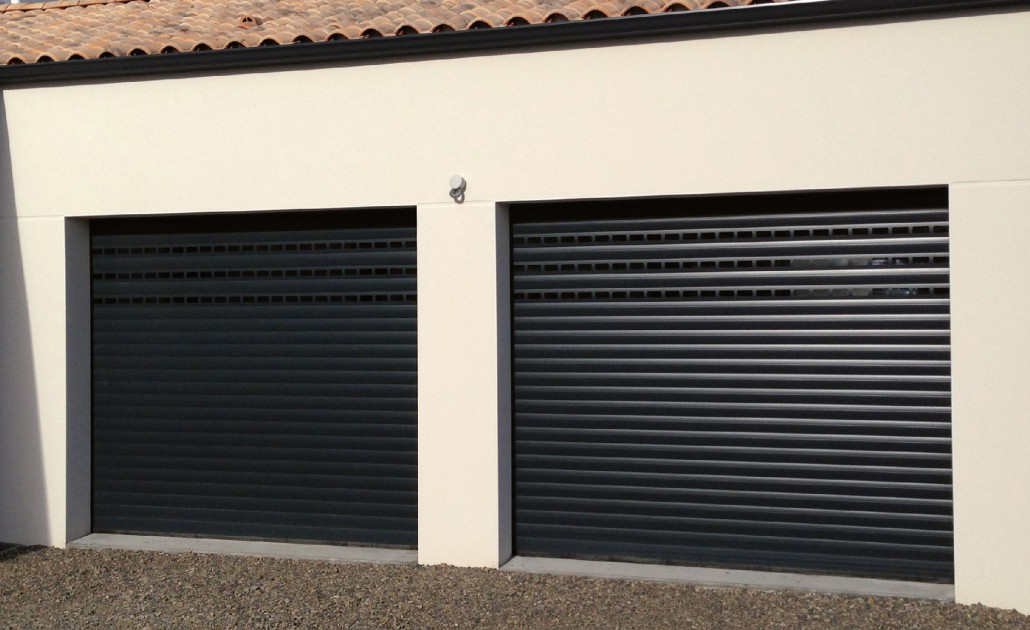 Porte de garage enroulable lapeyre isolation id es for Porte garage enroulable
