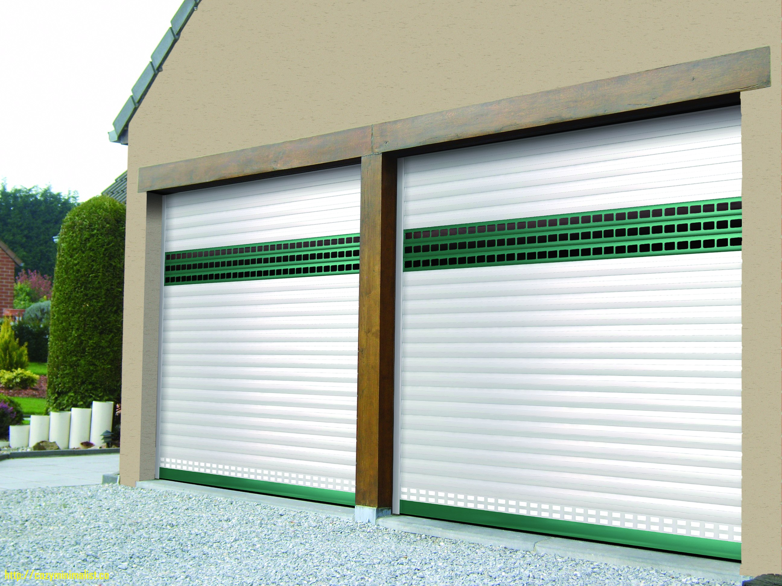Porte de garage enroulable bubendorff isolation id es - Porte de garage eveno ...
