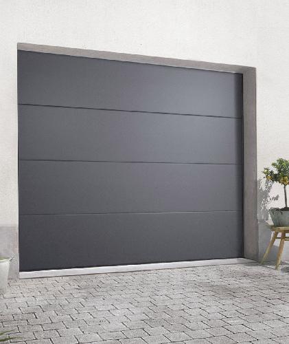 porte de garage sectionnelle ral 7016 isolation id es. Black Bedroom Furniture Sets. Home Design Ideas