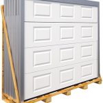 Porte de garage en bois 2 vantaux brico depot