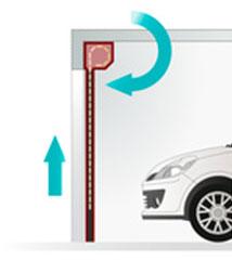 isoler une porte de garage enroulable isolation id es. Black Bedroom Furniture Sets. Home Design Ideas
