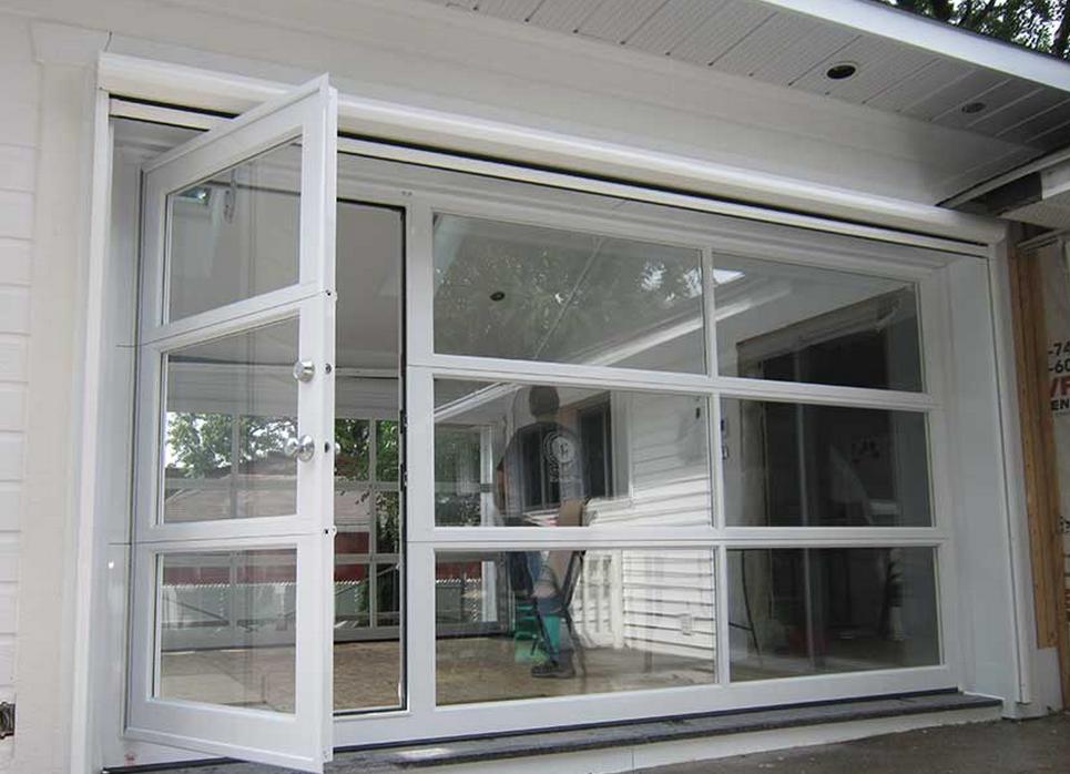 Porte de garage vitr e isol e isolation id es - Porte garage isolee ...