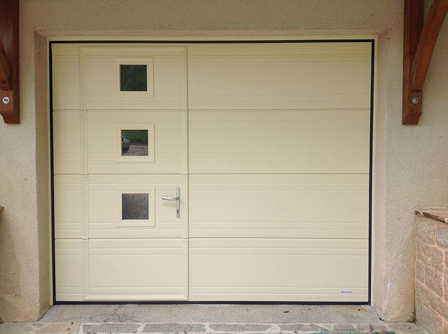 porte de garage sectionnelle motoris e tarif isolation id es. Black Bedroom Furniture Sets. Home Design Ideas