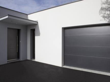 Prix porte de garage sectionnelle motoris e la toulousaine - Prix porte de garage laterale motorisee ...
