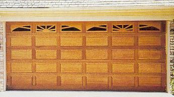 Porte de garage sectionnelle motoris e bois isolation id es - Isolation porte de garage battant bois ...