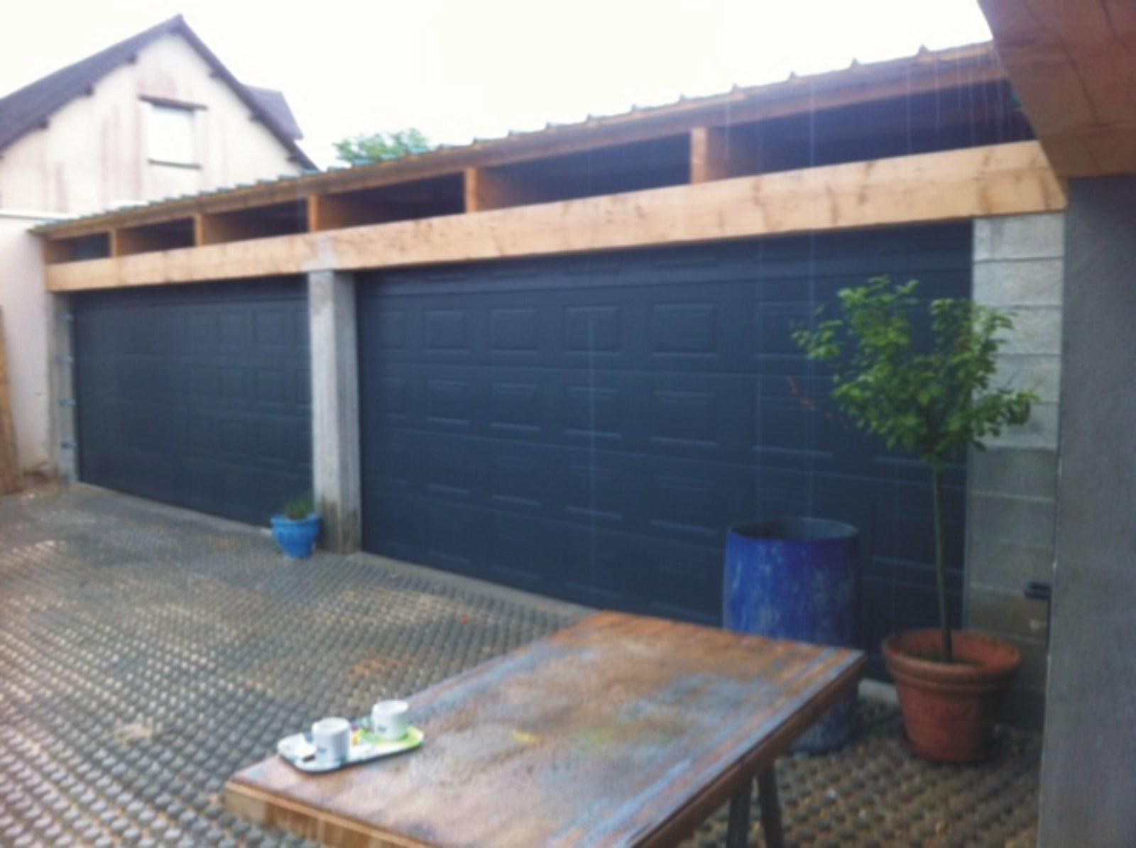 Porte de garage sectionnelle grande largeur isolation id es - Porte garage sectionnelle 3m large ...
