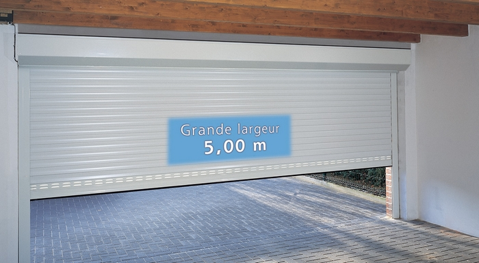 Porte de garage enroulable isolante isolation id es for Porte de garage sur mesure castorama