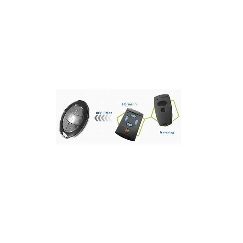 telecommande porte de garage hormann hsm4 isolation id es. Black Bedroom Furniture Sets. Home Design Ideas