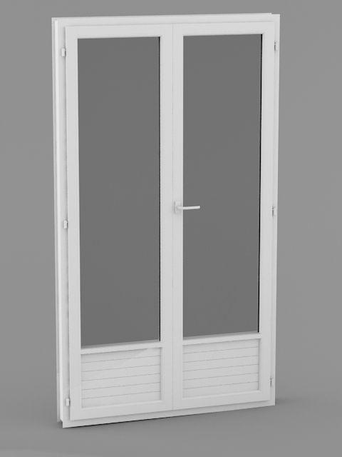 fenetre pvc 2 vantaux sur mesure isolation id es. Black Bedroom Furniture Sets. Home Design Ideas