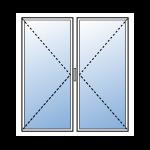Fenetre pvc 2 vantaux lapeyre isolation id es for Fenetre pvc sur mesure devis en ligne