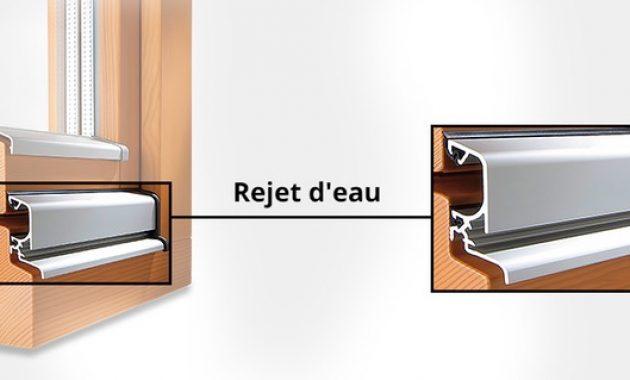 rejet d 39 eau fenetre pvc isolation id es. Black Bedroom Furniture Sets. Home Design Ideas