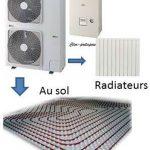 Pompe à chaleur basse température air/eau