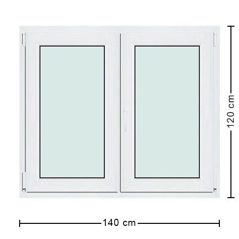 Fenetre pvc 140x120 isolation id es for Isolation fenetre