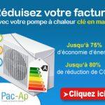 Pompe à chaleur économie d'énergie